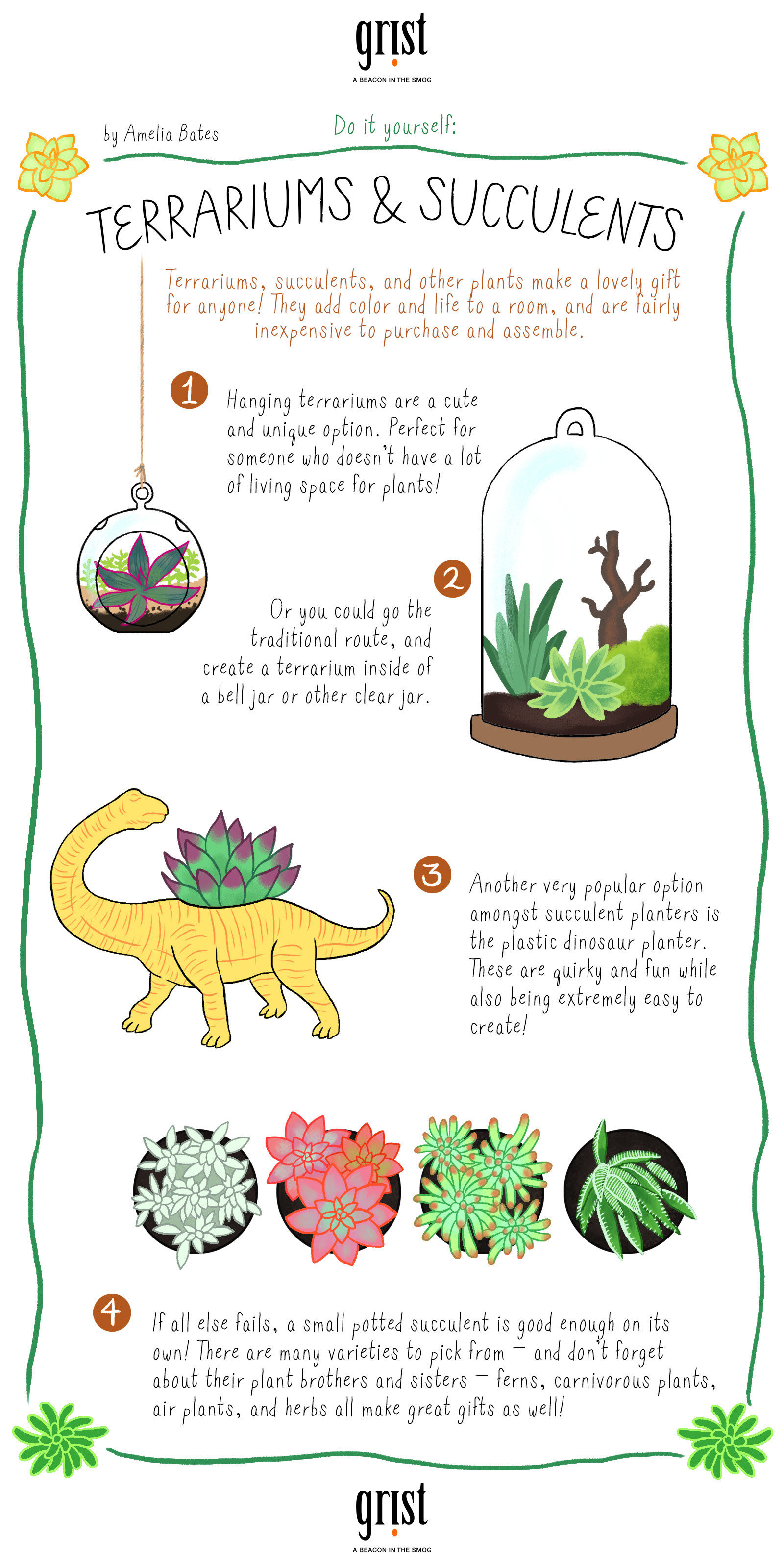 How To Make Your True Love A Sweet Succulent Terrarium