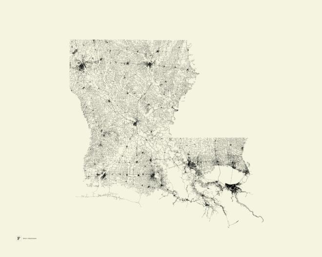 la_road_map_poster