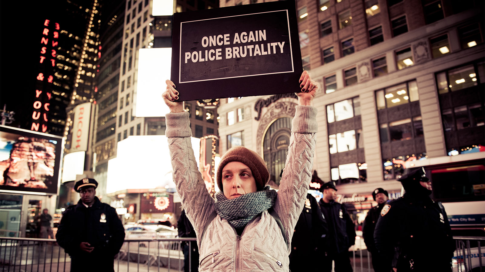 Protest in New York City