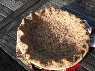 sugarcookiemexicanweddingcakepecangrahamcrackeroatflaxseedbuttermaplesyrup pie crust