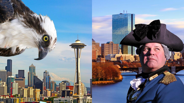 Seattle vs Boston