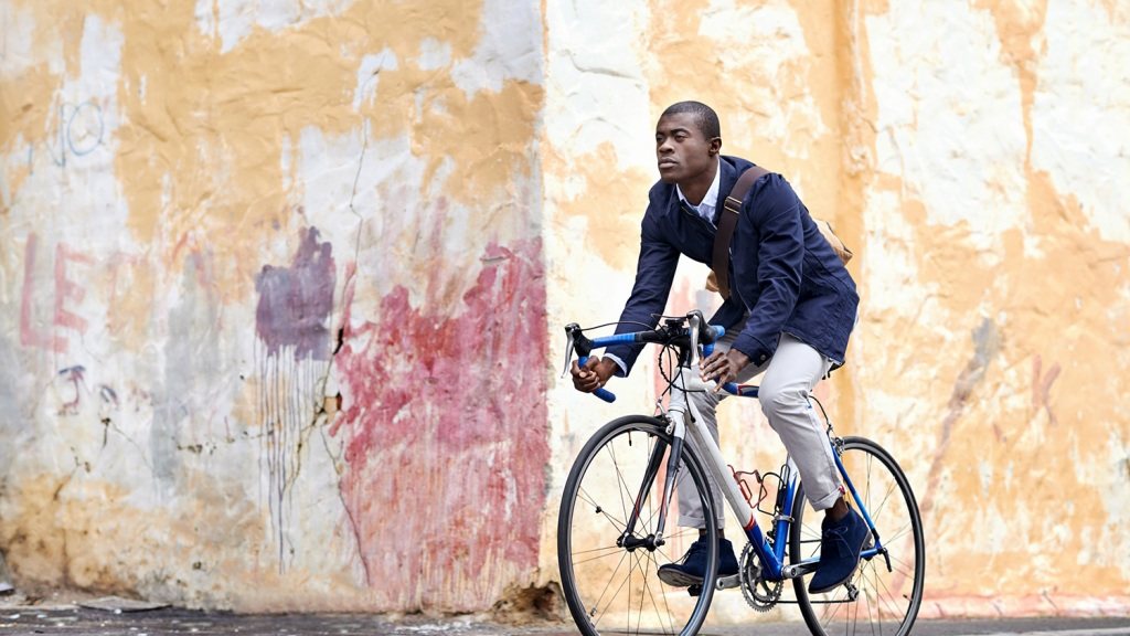 Biking while black