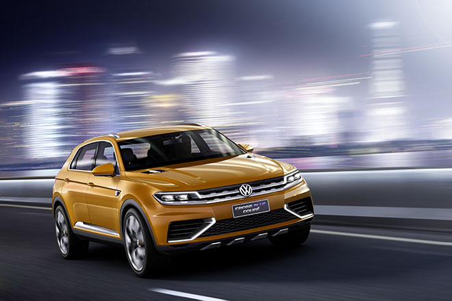 Volkswagen CrossBlue Coupe GTE