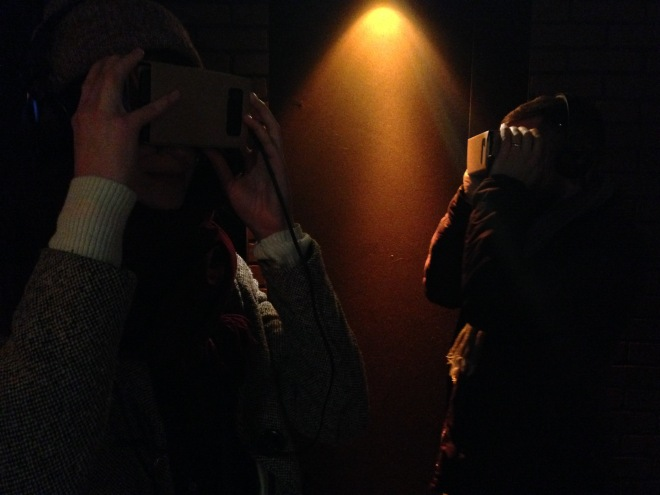 My brief experience with Google Cardboard was exactly as dystopian as it looks.