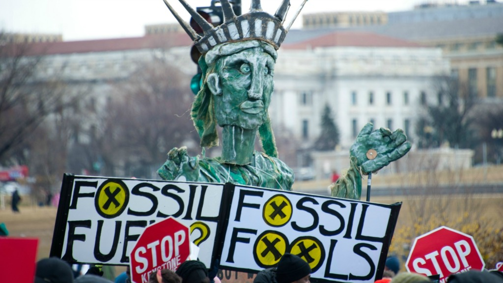Keystone & fossil fuel protest