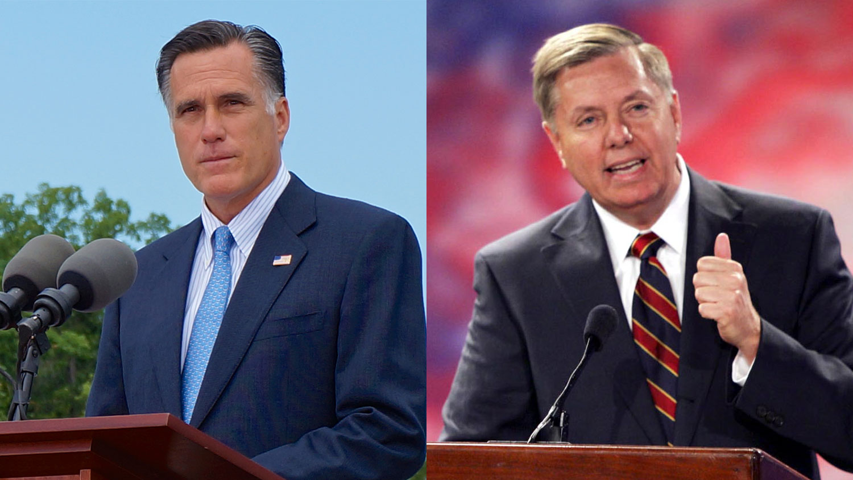 Mitt Romney & Lindsey Graham