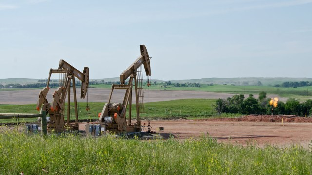 North Dakota oil drilling