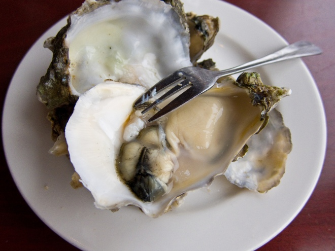Seattle oysters
