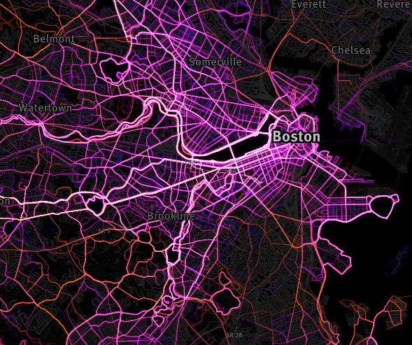 Running Map Boston