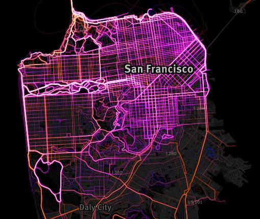 Running Map SF