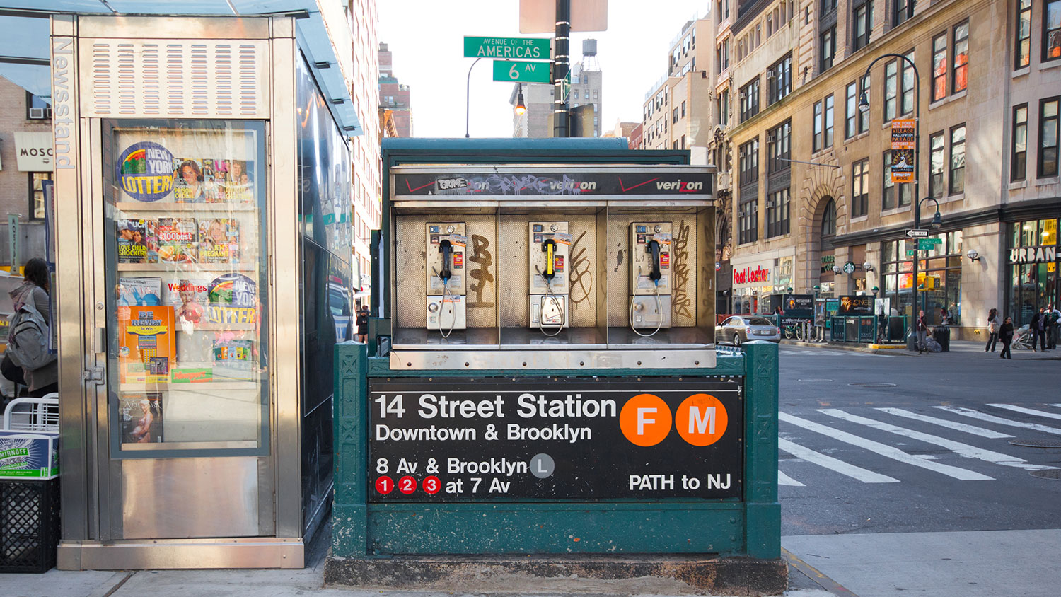 14th Street Station in NYC