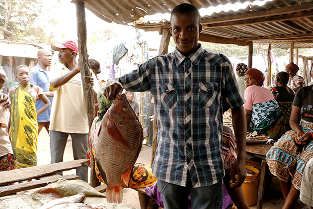 At markets in northern Tanzania, vendors like Ibrahim Mohammed say prices for tilapia and Nile perch have doubled in the last few years.