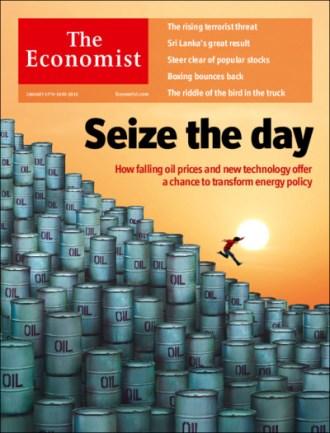 "Economist cover: ""Seize the day"""