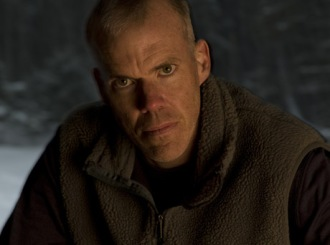 Bill McKibben, pondering how best to strangle your puppies.