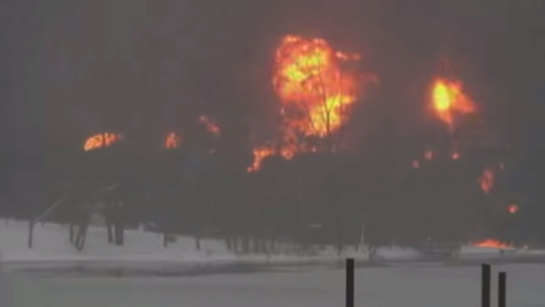 West Virginia train explosion