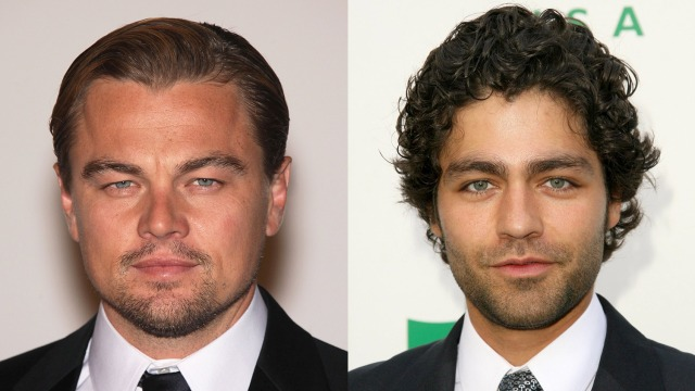 Leonardo DiCaprio and Adrien Grenier