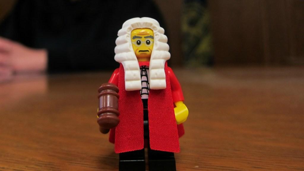 lego judge