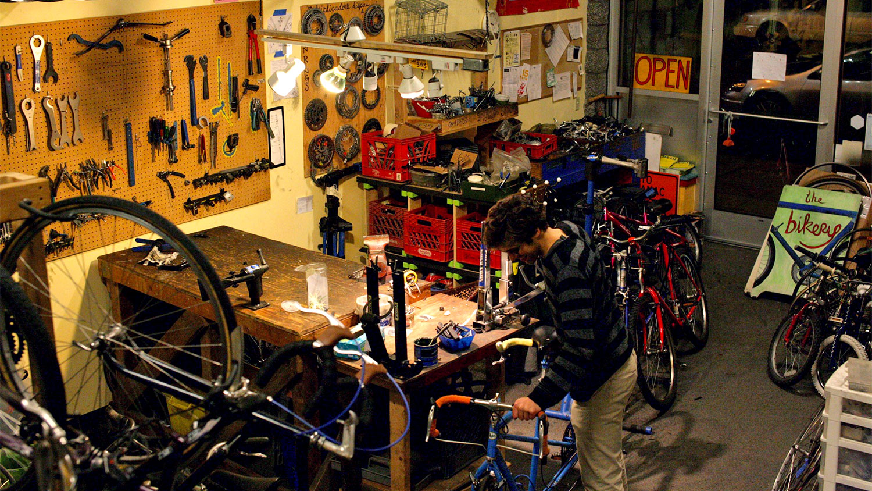 Bike kitchen
