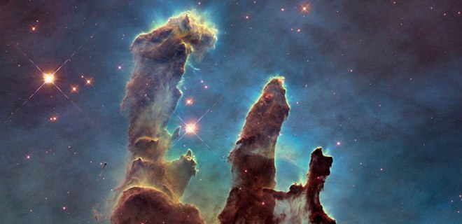 "The ""Pillars of Creation"" is one of Hubble's most famous images, for good reason."