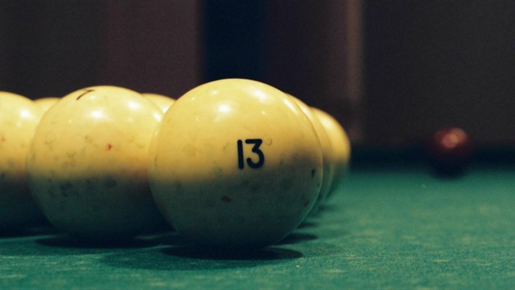 """""""13"""" pool ball"""