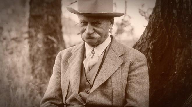 "Urban parks pioneer and ""poet of the prairie"" Jens Jensen"