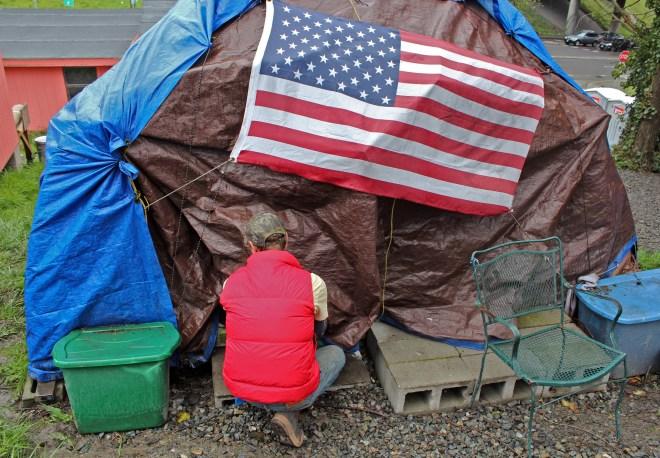 Asa's tent