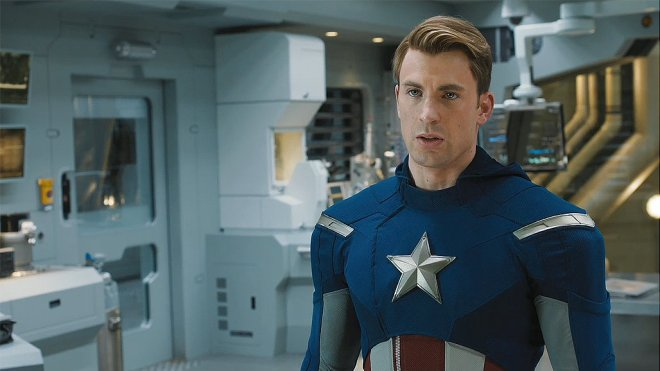 avengers captain - crop