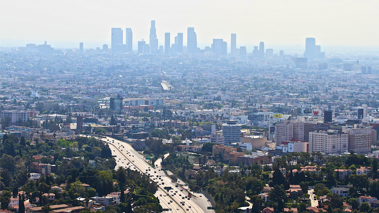 smoggy L.A.