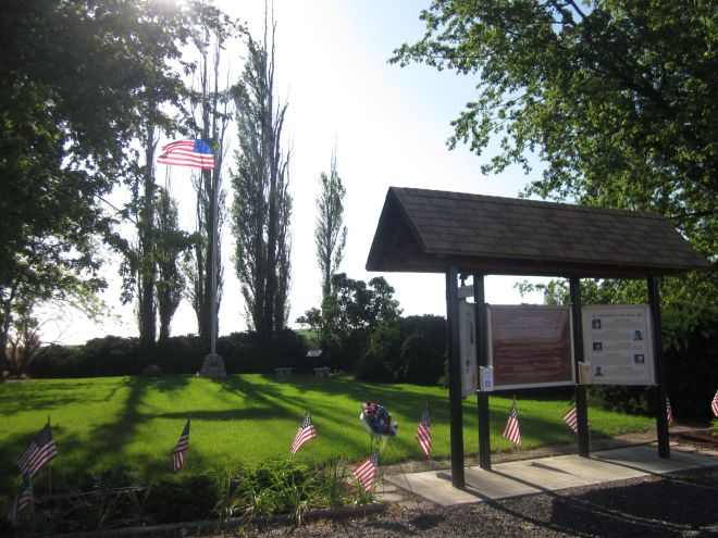 Keppler Memorial Park in Ralston, Wash.