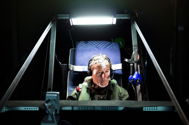 André Borschberg has spent 72 hours at a time in a simulator to prepare for this flight.