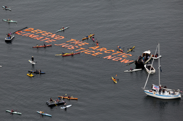 kayak protest