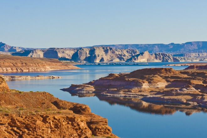 Lake Powell in Arizona.