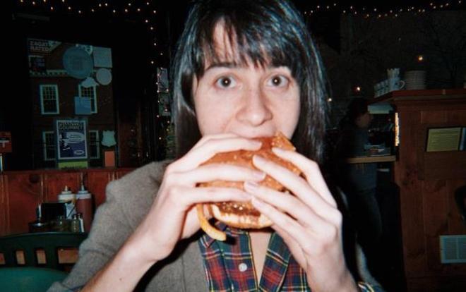 The author, really needing a burger.