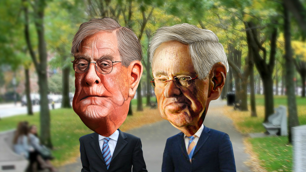 Koch brothers cartoon