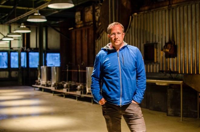 Andri Snær Magnason, founder of Toppstöðin.