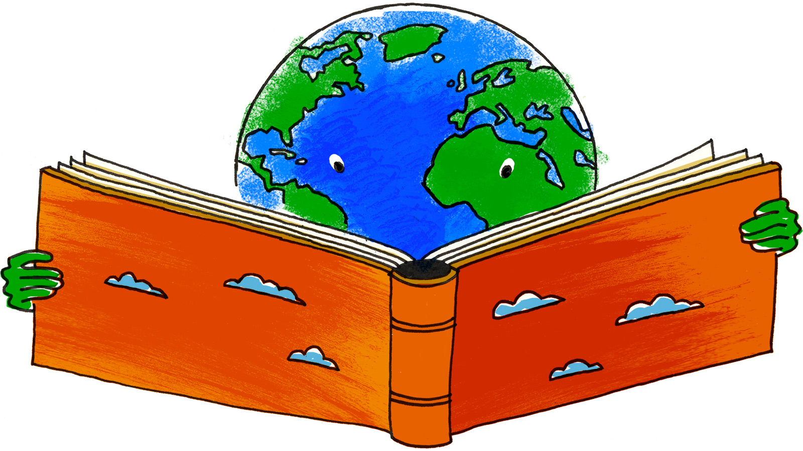 The earth reads