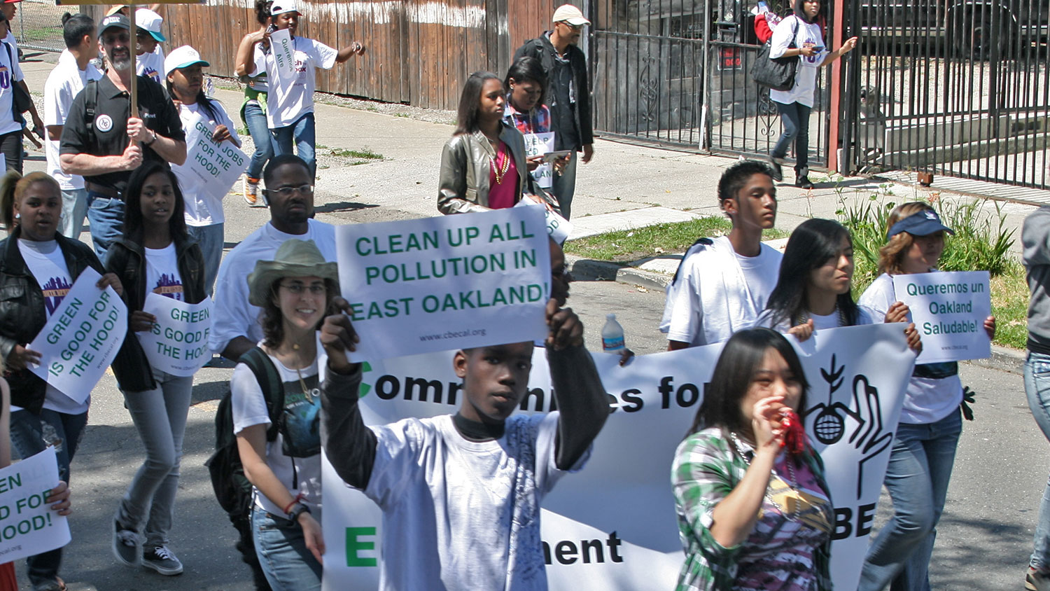 environmental justice protest