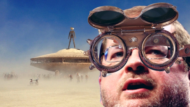 Grover Norquist at Burning Man
