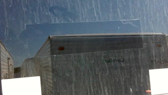 Missing FEMA trailer sticker