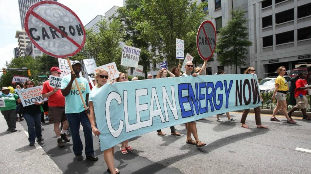 environmentalist rally