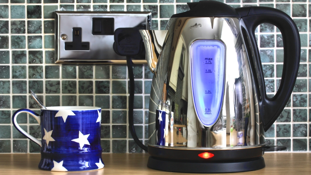 Electric kettle and a cuppa
