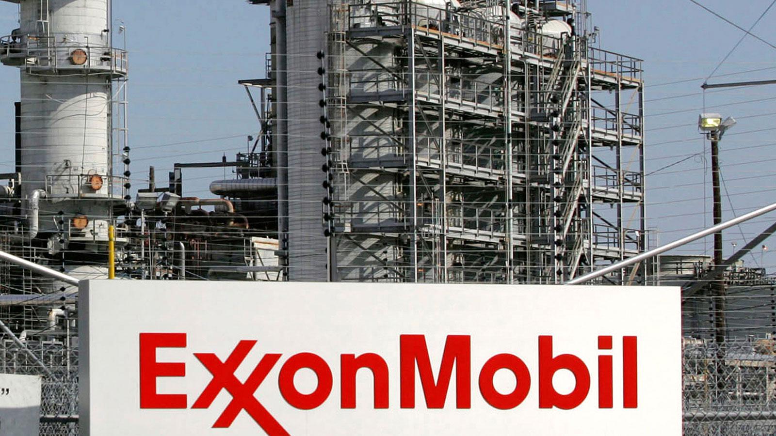 An Exxon Mobil refinery