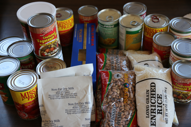FoodLink, a local nonprofit, delivers staples to those for whom money is tight because of the drought.