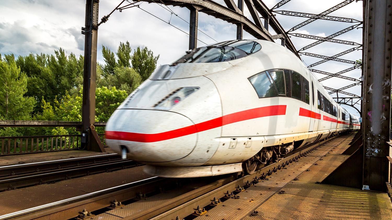 German express train