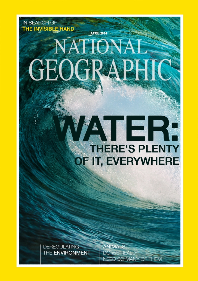 Hypothetical National Geographic Magazine cover