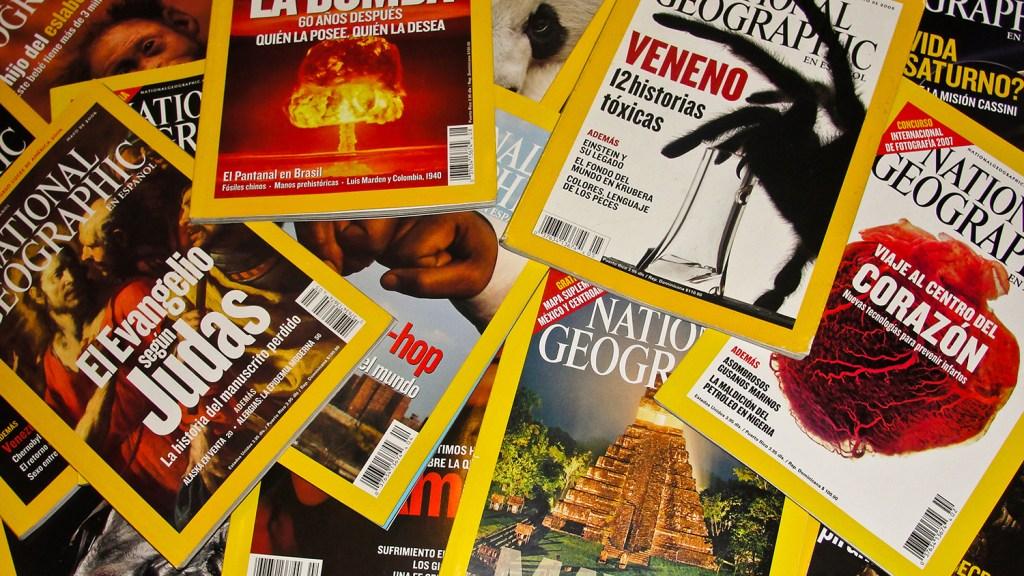 Spanish National Geographic Magazines