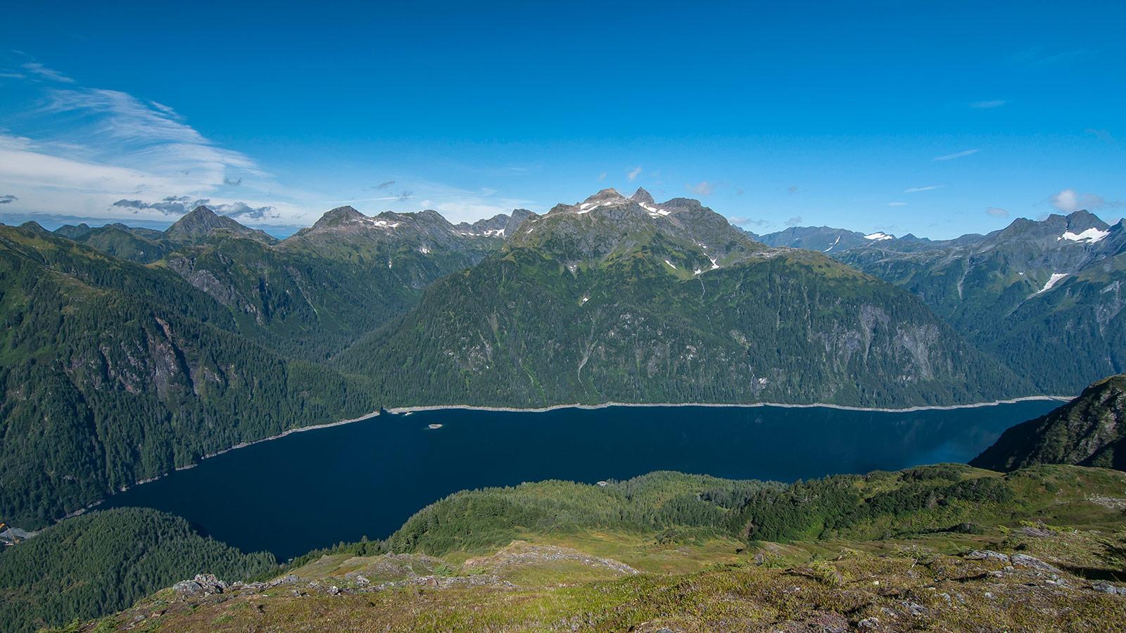 Blue Lake in Sitka, Alaska