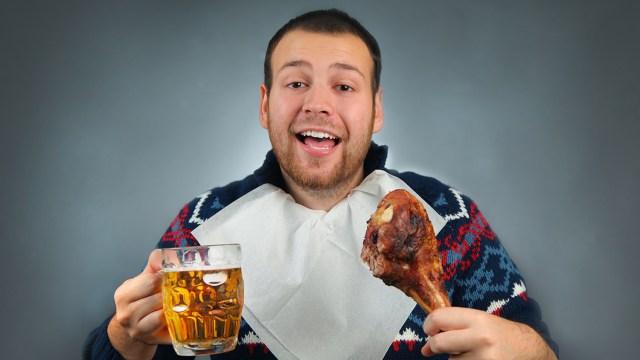Drunk vegetarian