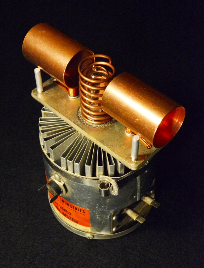 A prototype of the magnetron that would be used to create Pangaea Optima.