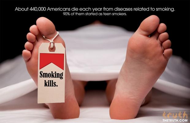 Truth Campaign_Smoking Kills